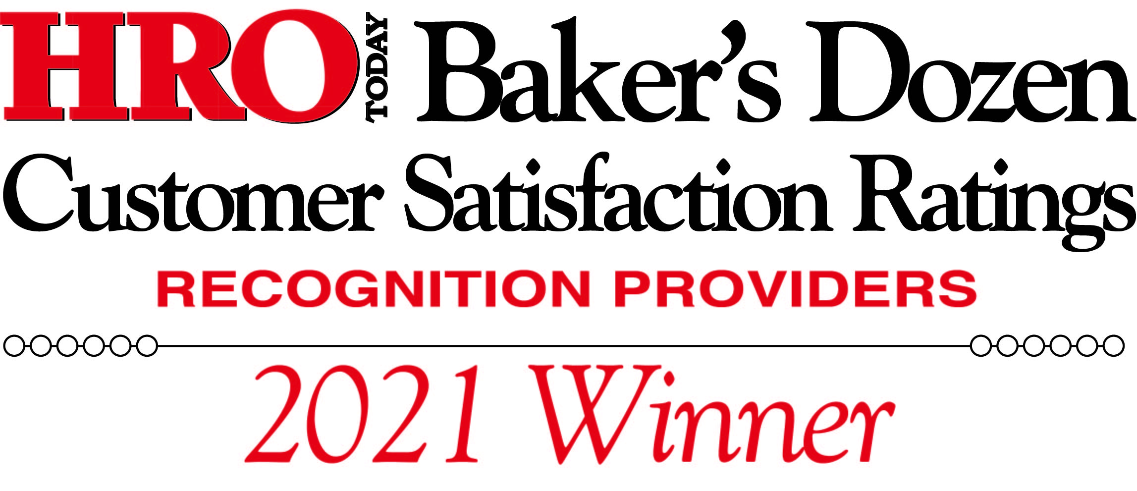 C.A. Short Company named top recognition provider by HRO Today's Baker's Dozen.