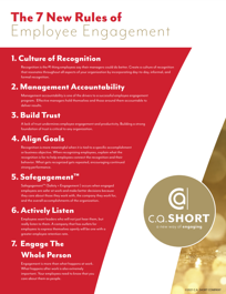 CA Short's 7 new Rules of Employee Engagement
