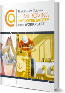 Ultimate Guide to Improving Employee Safety in the Workplace eBook cover