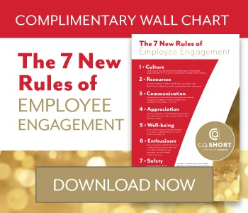 7 New Rules of Employee Engagement Wallchart